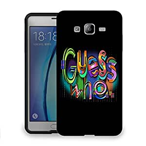 Snoogg Guess Who Designer Protective Back Case Cover For SAMSUNG ON 7
