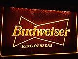 Budweiser LED Zeichen Werbung Neonschild Gleb