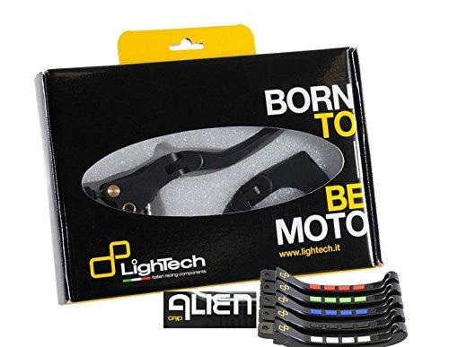 Preisvergleich Produktbild LIGHTECH ALIEN FOLDING BRAKE LEVER SET KLEV116K YAMAHA T-MAX 500 / T-MAX 530