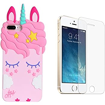 coque iphone 5 licorne 3d