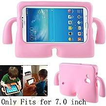 """Y&M (TM)–Carcasa de Samsung Galaxy Tab, espuma EVA resistente a los golpes y a prueba de niños. Carcasa duradera, ligera, de dibujos animados infantiles. Carcasa protectora para tablets: funda para Samsung Galaxy Tablet 2/3/3Lite/4/Q (7,0"""")"""