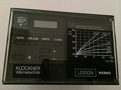Elco Klöckner Heiztechnik LOGON WKBMS Artikelnummern 4758605283 Original Ersatzteil Austausch Heizungsregler