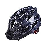 Y-YT Fahrradhelm Fahrrad Helm verstellbar Leichtes Gewicht Sicherheit Helm im Freien Sport Mountainbike 52-60cm