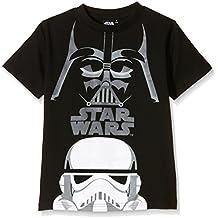 STAR WARS, Camiseta Manga Corta Star Wars - Camiseta De Manga Corta de manga corta para niños