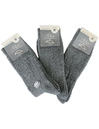 6 Paar Herren Thermo Socken Ohne Gummi (7505)