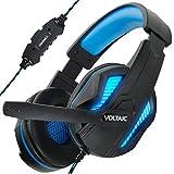 Cuffie da Gioco ENHANCE - USB Gaming Headset con Microfono , Surround Sound 7.1 , LED Luce , i Controllo del Volume - Ideale per PUBG, League of Legends e altri Giochi per Computer e On-line