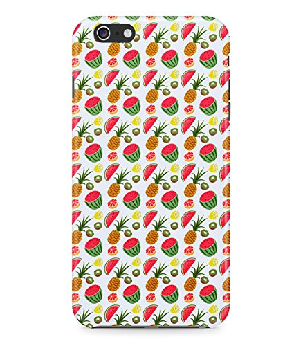 Tropical Fruit Pineapple Watermelon Lemon Tumblr Pattern Aloha Hype Fresh Hipster Hard Plastic Snap On Back Case Cover For Iphone 6 Custodia