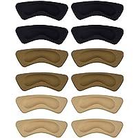 moneil 6Paar Fersenkissen Pads Heel Grips rutschsicher selbstklebend Schuh Einlegesohlen Fußpflege Displayschutzfolie preisvergleich bei billige-tabletten.eu