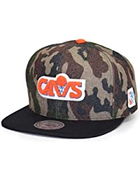 Mitchell   Ness Gorras Cleveland Cavaliers Flannel Camo Black Snapback d769d879a7b