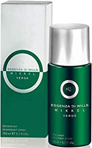 Essenza Di Wills Mikkel Verde Deodorant for Men, 150ml