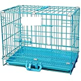 Pet Needs Cage for Rabbit/Cat/ Guinea Pig with Removable Tray-L-43 cm * W-31 cm * H-38 cm (18 Inch)