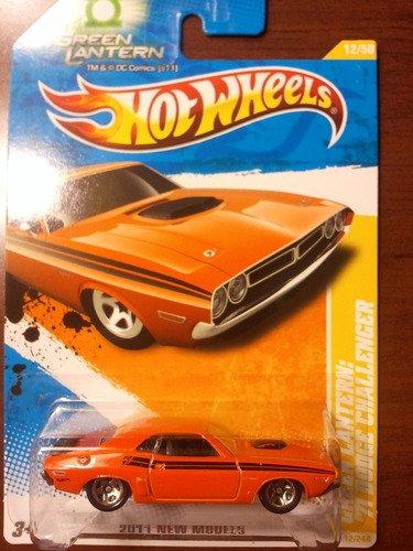 Hot Wheels 2011 New Models Green Lantern 71 Dodge Challenger 12/50