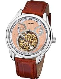 AUER Classic Collection BA-505-RSBrL Reloj Automático para hombres Horario excepcional