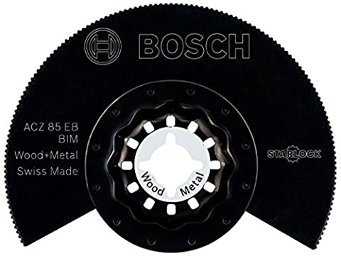 Bosch Starlock ACZ 85 EB BIM Segment Saw Blade Wood and Metal for all PMF Multi-Tools