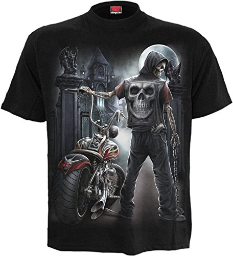night-church-t-shirt-homme-squelette-motard-xl
