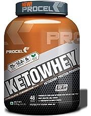 PROCEL KETOWHEY Keto Whey Isolate Protein Powder with Ketof