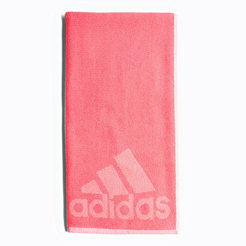 adidas Towel S Sporthandtuch, Real Pink/Chalk Pink, One Size