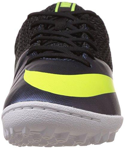 Nike Mercurialx Pro Tf, Scarpe da Calcetto Uomo, Nero Blu (Squadron Blue / Volt-Black) (nero)