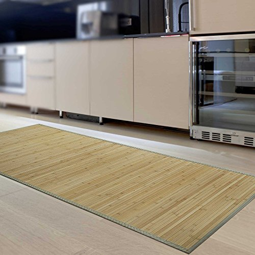 Bambusteppich Marigold Fur Bad Und Wohnzimmer Naturlich Wohnen