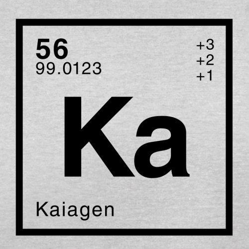 Kaia Periodensystem - Herren T-Shirt - 13 Farben Hellgrau