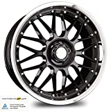 KESKIN KT4 BLACK LIP POLISH 8,5x19 ET35 5.00x112.00 Hub Hole 72.60 mm - Alu felgen