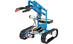 Makeblock mBot Ultimate, 10-in-1 programmable robot kit, 160+ mechanical parts and modules, Mainboard MegaPi, Wireless remote control
