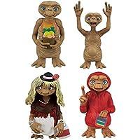 E.T. el Extraterrestre Conjunto 4 Figuras Colección 6cm Original Gashapon Japón Tomy