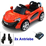 Roadster mit 2x Motoren mp3 LED Elektro Kinde...Vergleich