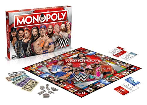 Winning Moves WWE Monopoly Board Game