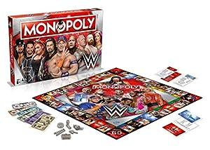 WWE Monopolio Juego de Tablero (versión en inglés)