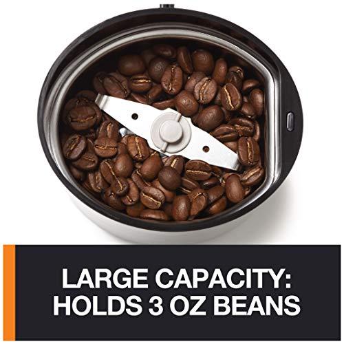 Negro Pl/ástico Krups F2034251 Fast Touch Molinillo de caf/é y especias 200 W