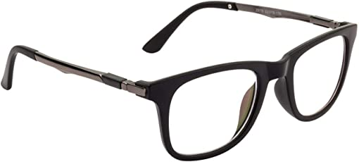 Xforia Boys Sports Sunglass Plain Wayfarer Sunglasses For Men & Women (White Wayfarer Clear   TY-75)