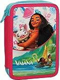 Vaiana - Disney - Portapastelli 2 zip con cancelleria immagine