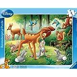 Ravensburger 06003 - Bambi-Rahmenpuzzle, 8 Teile