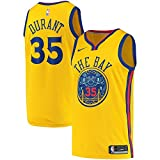 Nike Kevin Durant Golden State Warriors Swingman City Edition Gold Jersey – Herren 3 X L (XXXL)