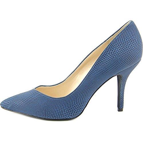 Style & Co Pyxiee Damen Spitz Kunstleder Stöckelschuhe Blue Steel