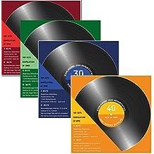 30 X Einladungskarten Zum 50 Geburtstag 50 Igster Als Schallplatte 4 Farben  Zur Auswahl