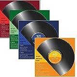 30 x Einladungskarten zum 50 Geburtstag 50-igster als Schallplatte 4 Farben zur Auswahl