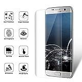 Duractron Displayschutz Panzerglas Schutzfolie Glas Folie mit extra Reinigungsset für Samsung Galaxy S7 Edge(Transparent) Bild 1