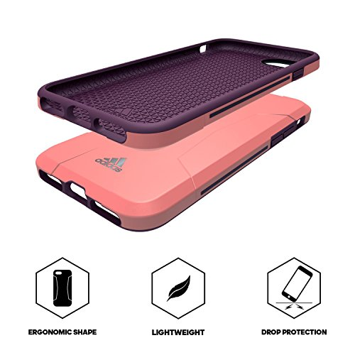 adidas Terrex - Solo Case iPhone 7 Plus Tactile Rose/Red Night - Custodia per iPhone 7 Plus / Cover Antiurto per iPhone 7 Plus - Custodia Cover per Cellulari da Palestra, Jogging, Running, Passeggiata Tactilse Rose/Red Night - iPhone 7