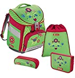 Step by Step Comfort - Set scuola in 4 pezzi, con motivo floreale