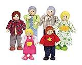 Imagen de Hape  Familia de muñecas Europea