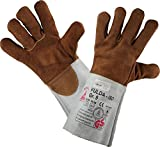 Schweißerhandschuhe FULDA - ISO - Arbeits-handschuhe - Sicherheitshandschuhe für Schweisser