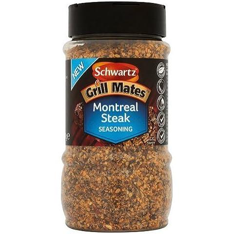 Schwartz Grill Mates Montreal Steak condimento - 370gm