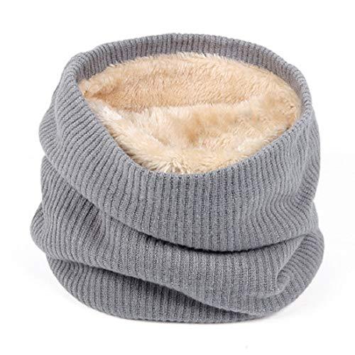 UMIPUBO Sciarpa Invernale Fodera Calda Unisex Sciarpe a Maglia Fashion  Sciarpa Tubo Snood per Sport Invernali 85e7e0e0cf04