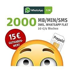 WhatsApp SIM Prepaid SIM...