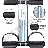 EasyHealth Double Spring Tummy Trimmer Pro Waist Trimmer Home Gym Home Exercise Equipment Abdomen Exercise Equipment Leg Exerciser for Men and Women