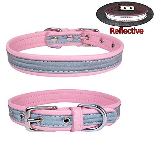 Newtensina Moda Collar Perro reflexivo Collares Cachorro