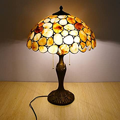 European-style table lamps/Retro living room bedroom bedside decorative table lamp/