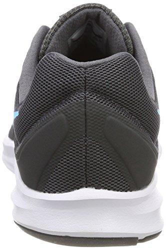 Nike Downshifter 7, Chaussures de Running Homme Gris (Gris Foncé/Bleu Fureur/Anthracite/Noir)